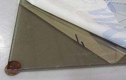 Polycarbonate Bronze Sheets, 1/8, 3/16, and 1/4 inch thicknesses